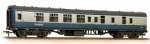 374-197 Farish BR Mk1 BSK Brake Second Corridor BR Blue & Grey with ScotRail Branding Weathered